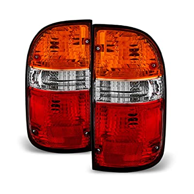 ACANII - For 2001 2001 2003 2004 Toyota Tacoma Tail Brake Lights Replacement Left+Right: Automotive