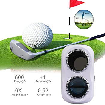 WOSPORTS Rechargeable Golf Rangefinder with Slope