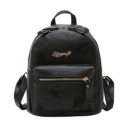 79b6fc87c79 Amazon.com: Bags,Women's Pu Leather Backpack Purse Ladies Casual ...