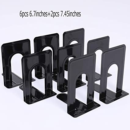 Book Ends Collectibles Good 2 Pcs Wooden Nonskid Bookends For Documents Cds Magazines Files Folders Stoppers