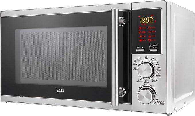 ECG MTD 205 SS - Microondas (1200W, 45,2 cm, 39,1 cm, 26,2 ...