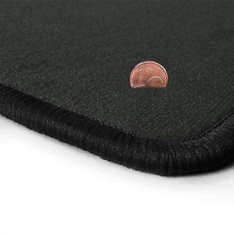 Velours Fußmatten dunkelgrau für JAGUAR X300 X330 1994-1997