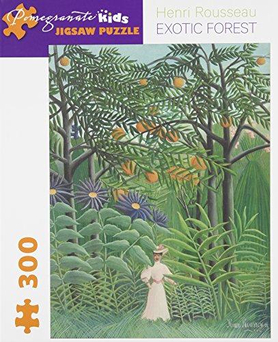 Henri Rousseau Artwork - Henri Rousseau - Exotic Forest: 300 Piece Puzzle