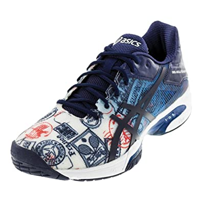 Asics Gel Solution Speed 3 Limited Edition Paris Mens Tennis Shoe