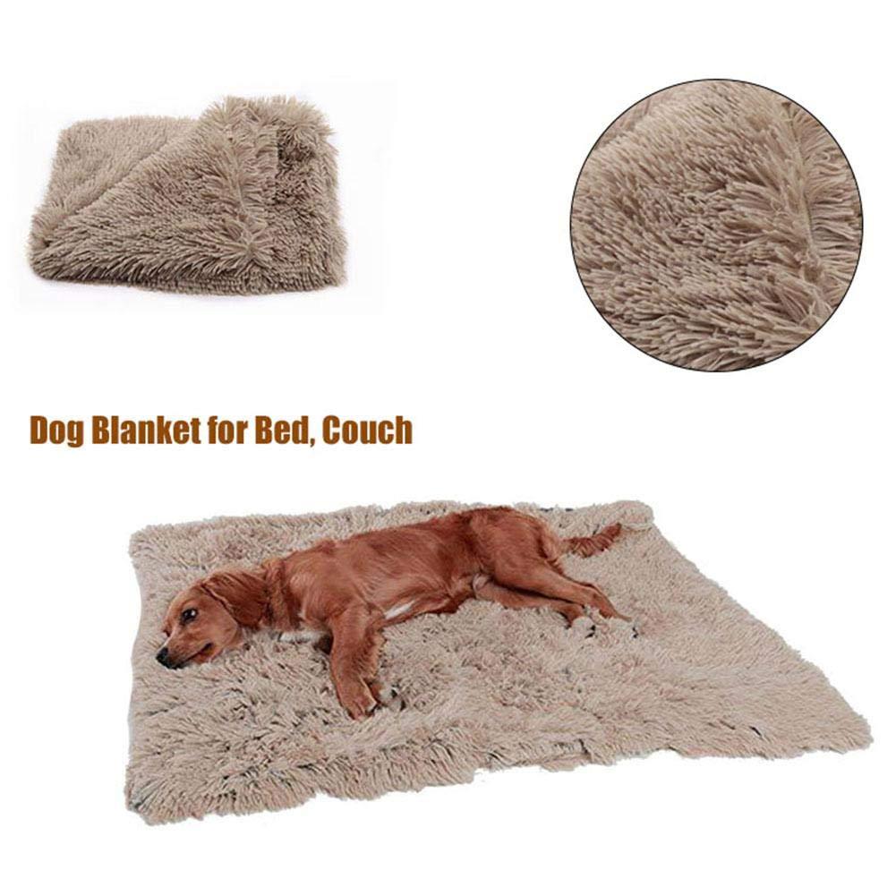 Small Alfombra para jaulas Jiang Hui Felpudo de Felpa para Mascotas Manta para Perro para Perros Perro Tela de Terciopelo 3 tama/ños Gatos para Descansar Impermeable Cama para Mascotas