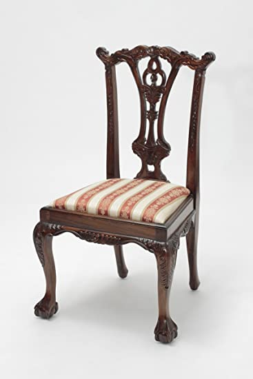 Chippendale Side Chair With Ball And Claw Feet