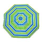 Shadezilla 9 ft Market/Patio Fiberglass Umbrella with Crank Lift, Tilt, UPF100 Sun protection, Aluminum Pole