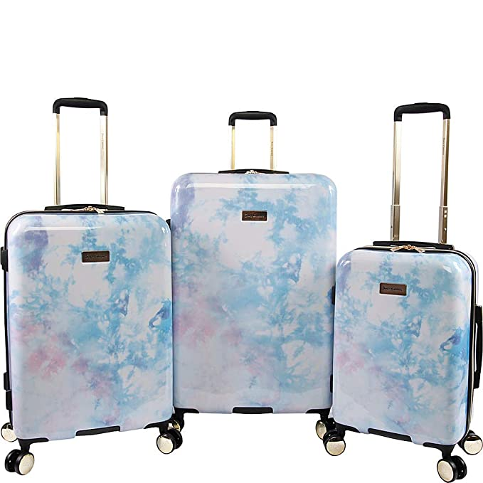 Juicy Couture Sadie 3-Piece Hardside Spinner Luggage Set
