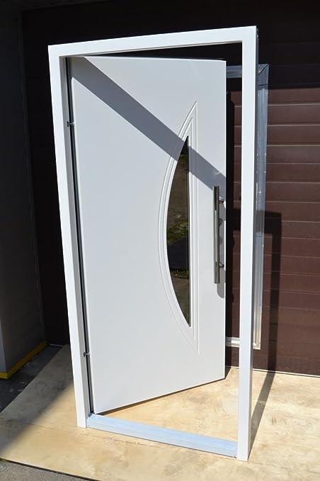 Nº 1, diseño Hogar Puerta, Puerta En Blanco 1000 x 2100 mm, DIN derecha Vidrio de Seguridad de pieza interior puerta además de entrada de puerta puertas: Amazon.es: Bricolaje y herramientas