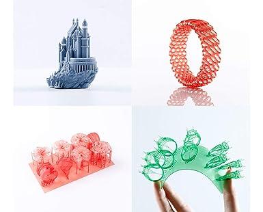 NOVA3D Elfin - Impresora LCD 3D de resina, rango de impresión de 132 x 74 x 150 mm, con impresión WLAN/offline, pantalla táctil a color de 4,3 pulgadas: Amazon.es: Industria, empresas y ciencia