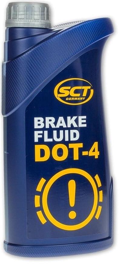 Dot 4 sintético de primera calidad de freno y embrague líquido 1 L SCT Alemania (