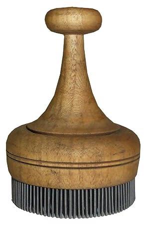 Tradicional de madera hecho a mano uzbekas sello chekich para pan No a10338: Amazon.es: Hogar