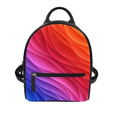 Colorful Personalized Designer Mini Backpack Purse for Women