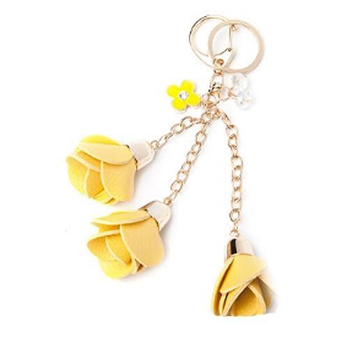 Amazon.com: Mujer oro bolsa colgante para llaves – Llavero ...