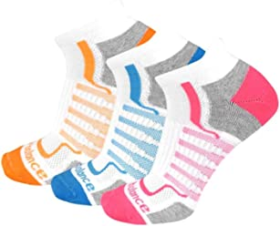 New Balance Women s Performance Low Cut Tab Socks (3 Pack) 282cc3f0b4d75