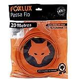Passa Fio Alma de Aço Foxlux – 20 Metros – PP de alta resistência – Qualidade profissional – Indicado para instalações elétri
