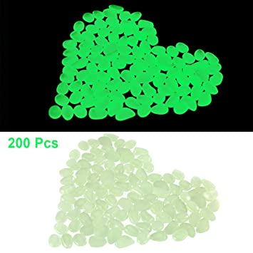 Petyoung 200 Piedras Brillantes en la Oscuridad, Ideales para ...