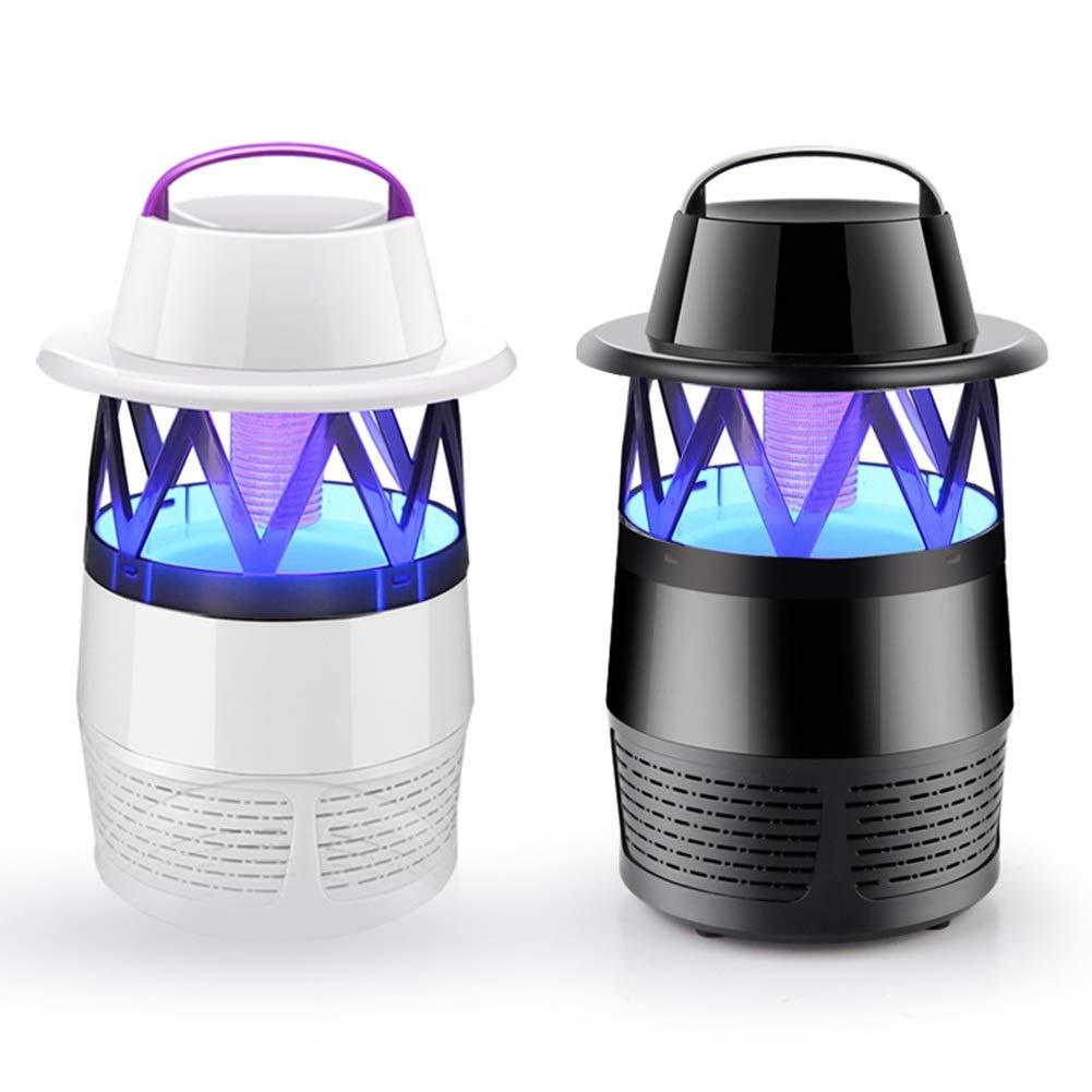 White+Black Mosquito Killer Lamp Household Indoor Mosquito Repellent Anti-Mosquito Artifact (color   White+Black)