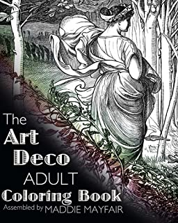 The Art Deco Adult Coloring Book Colouring Books For Grown Ups