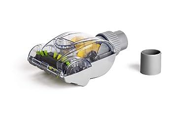 Cepillo Mini Turbo Universal 32/35mm para retirar pelo de mascota de tapicería. Compatible