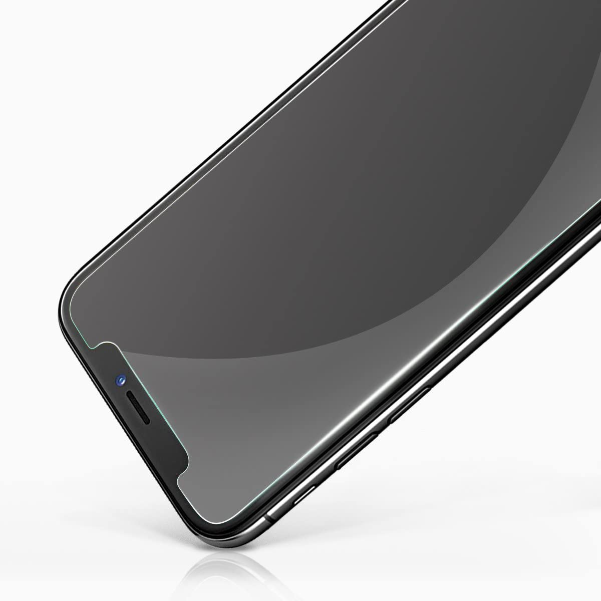 NEWC Pack of 2 Screen protector for iPhone 11 Pro iPhone XS Tempered Glass Film iPhone X