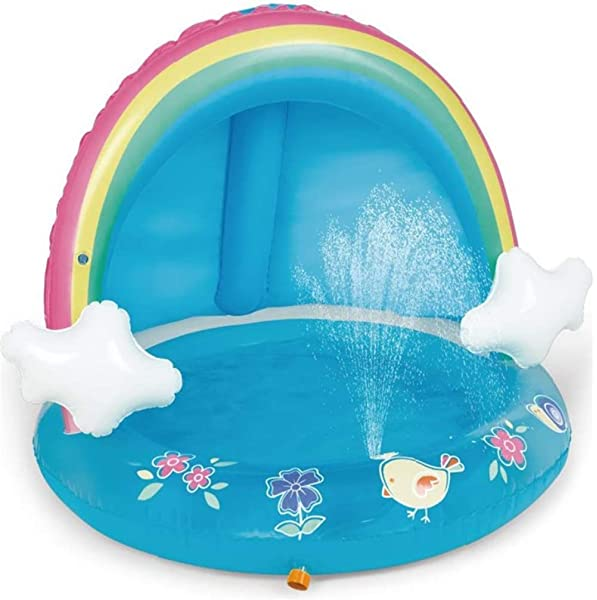 Intex 57429 - Piscina para bebé hinchable con diseño de casita ...