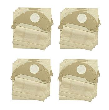 Find A - Bolsas de Recambio para aspiradoras Karcher (20 Unidades, Doble Capa)