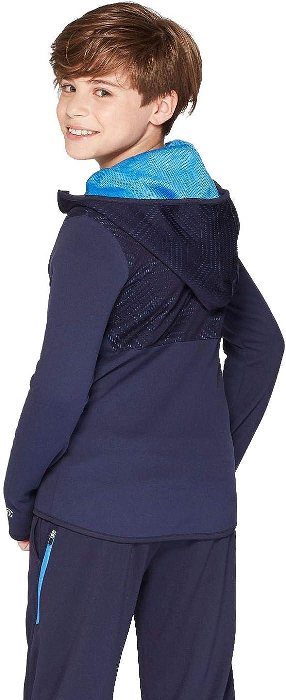 Champion C9 Boys Elevated Tech Fleece Full Zip Hoodie
