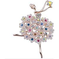 Kanggest Broche para Mujer Creativa Moda Estilo