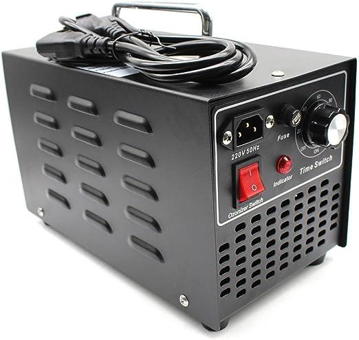 DiLiBee Ozonizador generador de ozono 10G Smellkiller,Purificador de Aire de ozono,Reconstrucción del Cuidado del vehículo Ambientador Temporizador: Amazon.es: Hogar