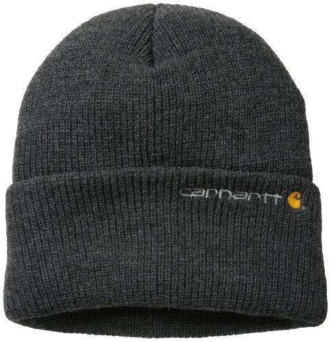 Carhartt Men's Wetzel Watch Hat,Coal Heather,One Size