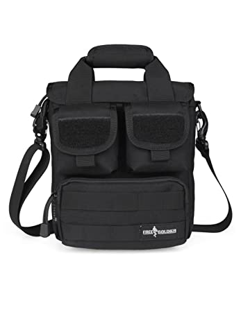 Amazon.com : FREE SOLDIER Outdoor Tactical Molle Shoulder Bag ...