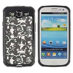 iArmor / Beige Olive White Wallpaper / Samsung Galaxy S3 I9300