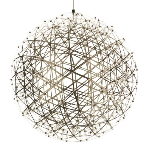 Moooi Raimond Pendelleuchte, edelstahl 1212 LEDs Größe 6 Ø199 cm