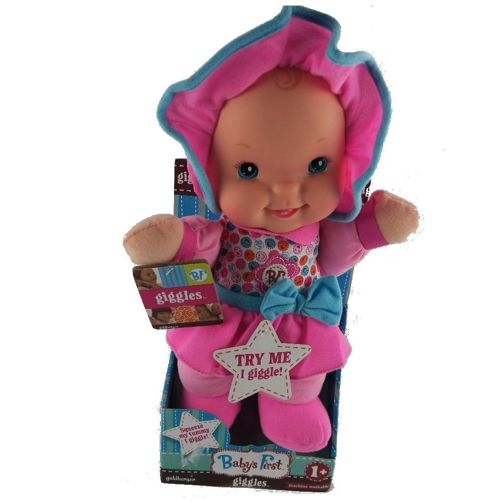 Baby's First Giggles Doll Goldberger Toy 180711 GIS