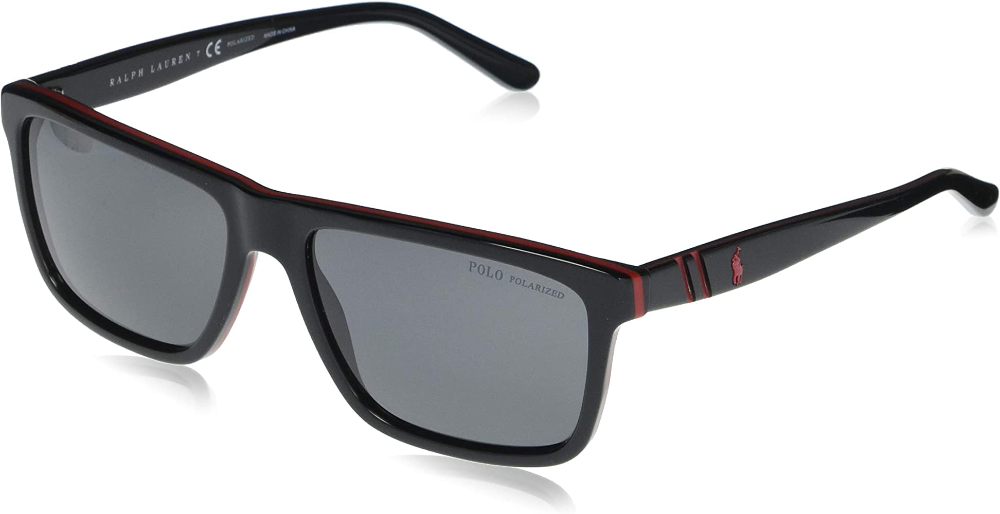 Ralph Lauren POLO 0PH4153 Gafas de sol, Red/Black, 58 para Hombre ...