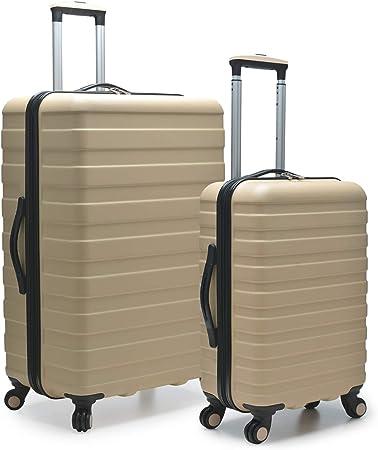 Traveler's Choice Colorful Hardside Spinner Luggage