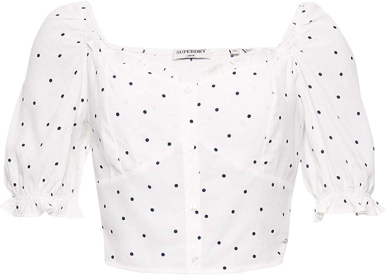 Superdry Mujer Camiseta Quincy Summer: Amazon.es: Ropa y accesorios
