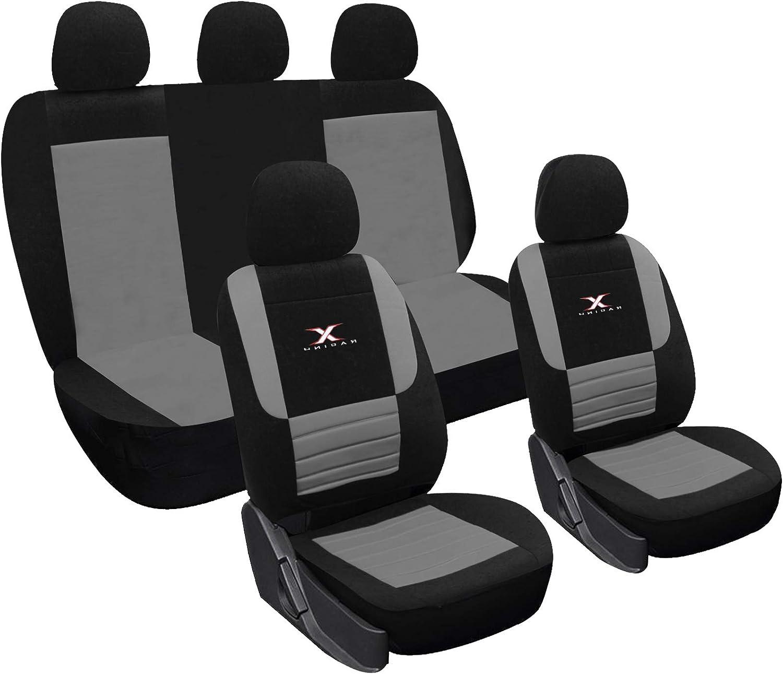 EUGAD 0015QCZT Autositzbezug Sitzbez/üge Schonbezug Sitzschoner schwarz