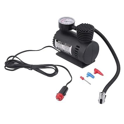 Tellaboull for Mini 12 V Bomba de inflado Juguetes Deportivos Bomba eléctrica Portátil Compresor Compacto Mini
