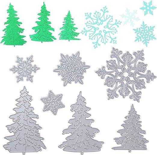 Weihnachten Metall Stencil Cutting Dies Scrapbooking Handwerk Stanzschablone