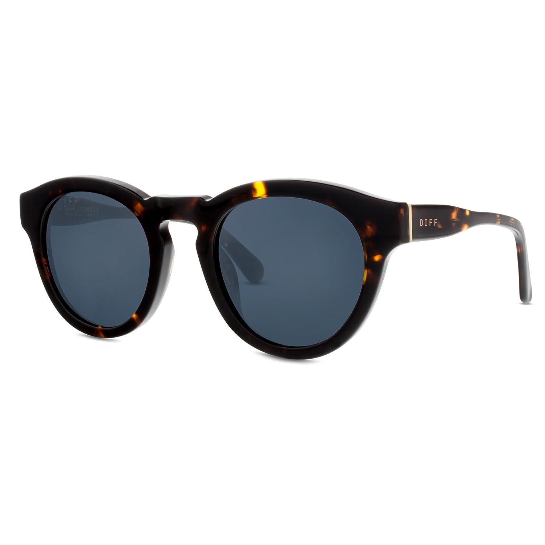 41526c37d16e DIFF Eyewear Dime II Round Acetate Polarized Designer Sunglasses For Women  Grey: Amazon.ca: Clothing & Accessories