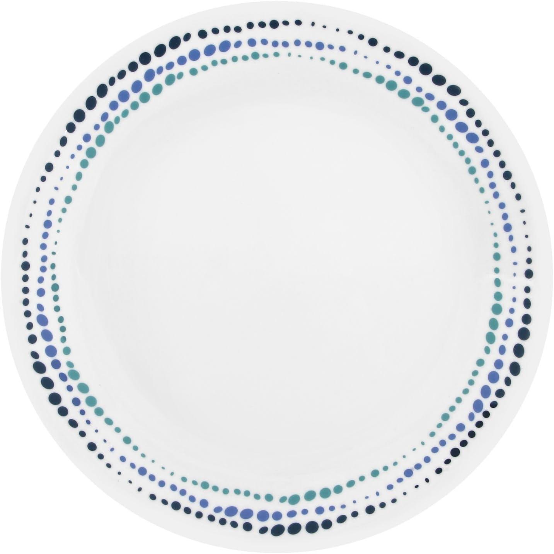 """Corelle Livingware Ocean Blues 10.25"""" Dinner Plate (Set of 4)"""