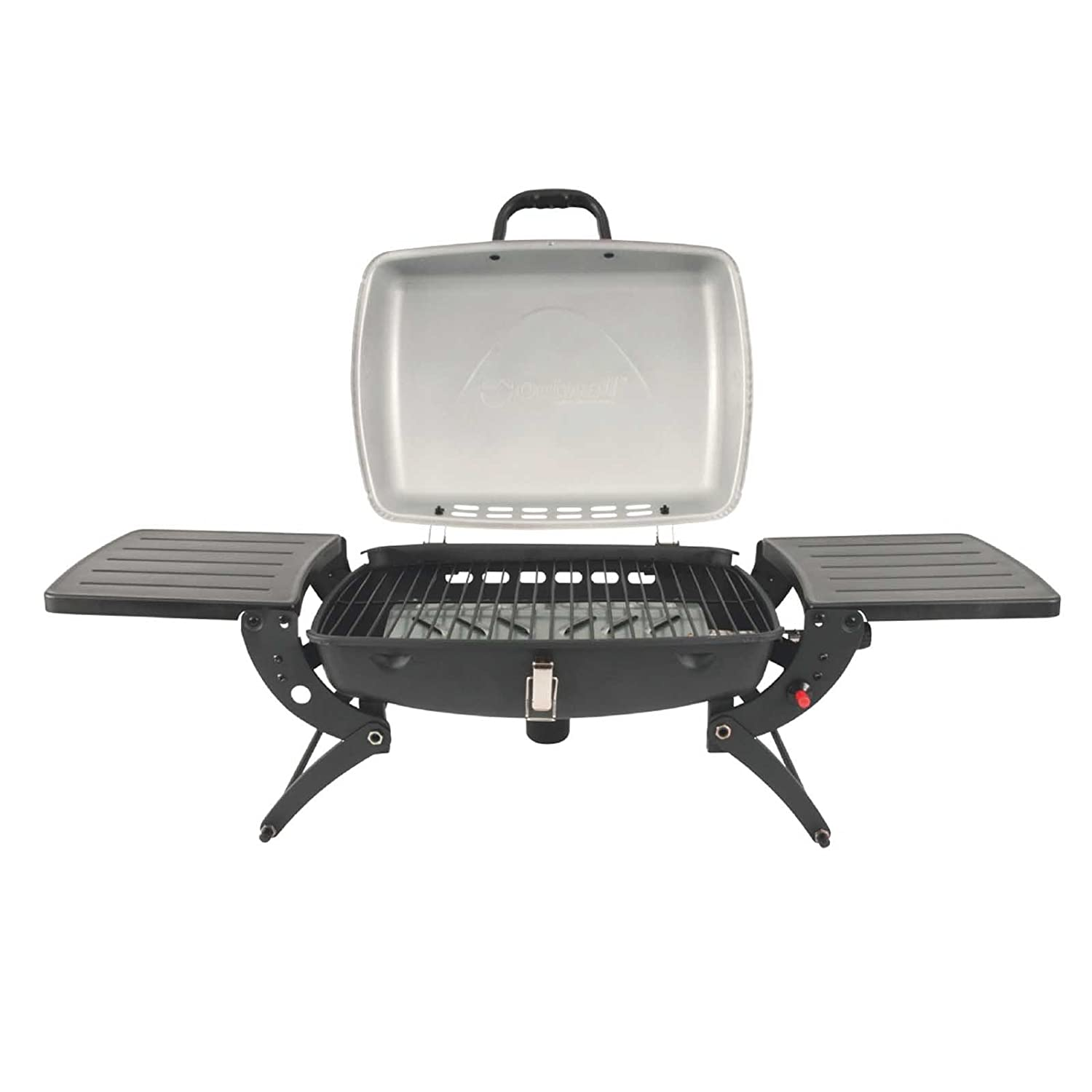 Outwell Roast Gas BBQ with Side table Stove + Grill - Black, One size 650266