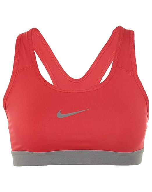 Nike - Sujetador deportivo - Vestir - para mujer Rojo rosso LC: Amazon.es: Ropa y accesorios