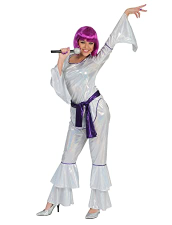 Kostum Miss Disco Fever Grosse 36 38 Damen 70er 80er Jahre Motto
