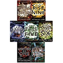 The Lorien Legacies Series Pittacus Lore Collection 7 Books Set (I Am Number Four, The Power of Six, The Rise of Nine, The Fall of Five, The Revenge of Seven, The Fate of ten)