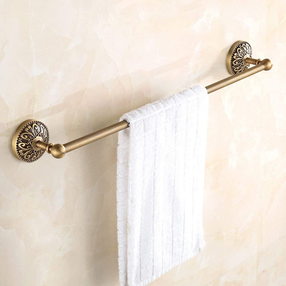 EQEQ Antique of Copper Copper in The European Style of Ancient Towel Racks Bath Rooms Retro Towel Rack Toilet Shelving delicate
