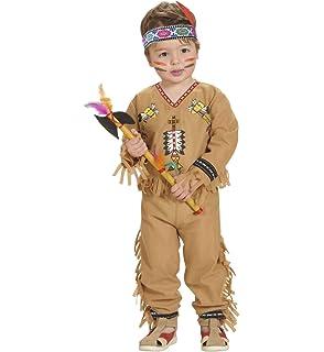 WIDMANN- Indiani Disfraz, Multicolor, 98 cm / 1-2 anni (48928 ...