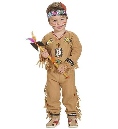 WIDMANN Disfraz de indio para niño - de 2 a 3 años